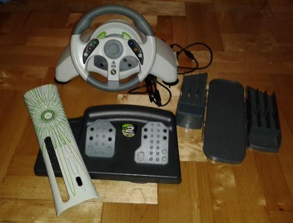 Kierownica Mat Carz Xbox360 Mc2 Microcon Z Pedałami + Gratis