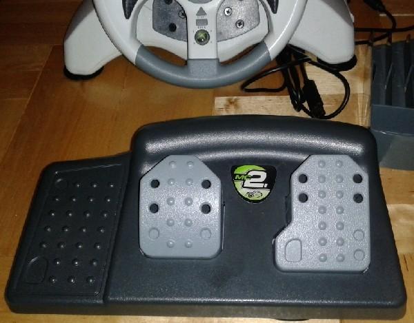 Kierownica Mat Carz Xbox360 Mc2 Microcon Z Pedałami + Gratis 4