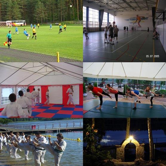 Ośrodek Wypoczynkowy Sportowy ,obozy Kolonie Sportowe ,sale Sportowe ,boiska, 3