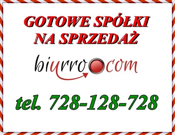 BIURRO.COM LTD oferuje szeroki wybór gotowych spółek. W Naszej ofercie znajdziesz bogatą ofertę czystych spółek w cenie od 3500 zł z lat od 1991-2015 roku